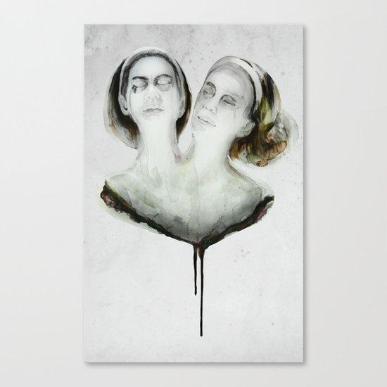 Bette and Dot Tattler Canvas Print