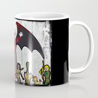 dungeons and dragons Mugs featuring DUNGEONS & DRAGONS by Zorio