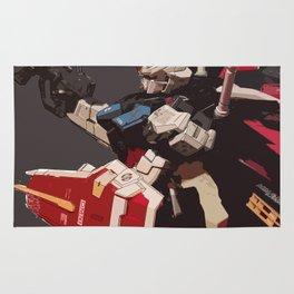 Gundam Aile Strike Digital Painting Rug