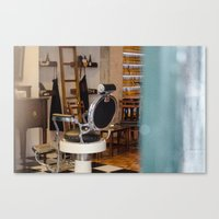 bar Canvas Prints featuring bar by Sébastien BOUVIER
