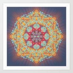 Enlighten Yourself. Art Print
