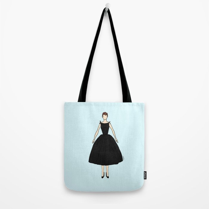 Audrey Hepburn Vintage Retro Fashion 1 Tote Bag