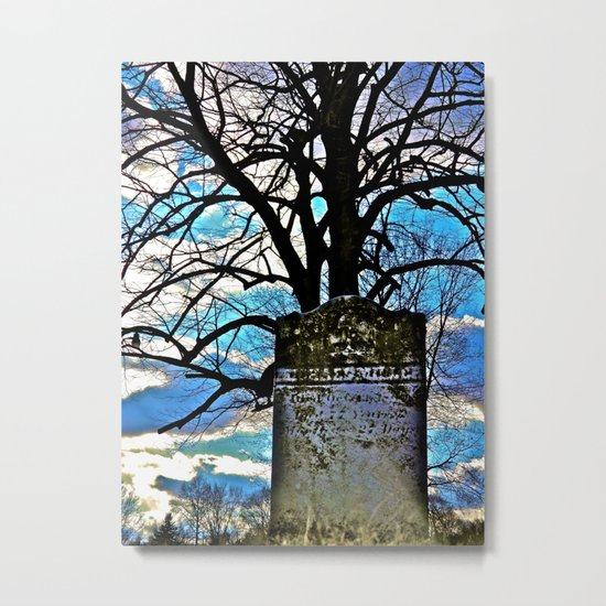 Everything Fades in Time Metal Print
