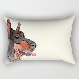 Doberman Pinscher Rectangular Pillow