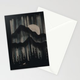 A Wolf in the Night... Stationery Cards