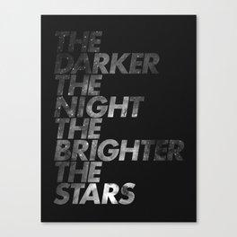 The Dark  Canvas Print