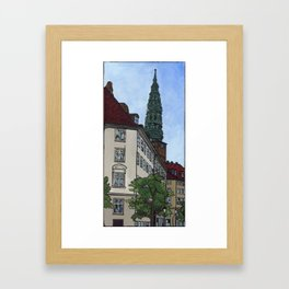 Copper Above All Framed Art Print