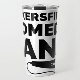 Bakersfield Comedy Fans - Black Travel Mug