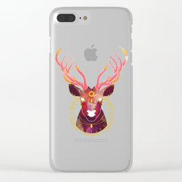 The Sun and the Stag Clear iPhone Case