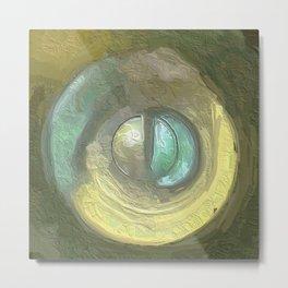 Abstract Mandala 132 Metal Print