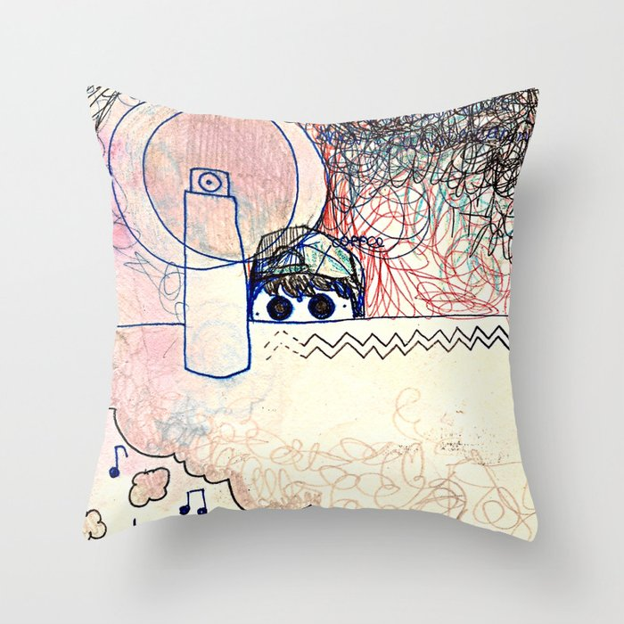 Dream Image Throw Pillow