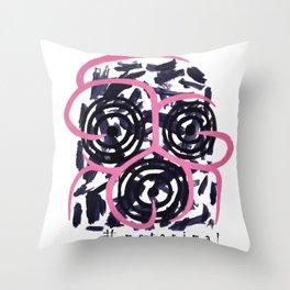 metanimal Throw Pillow