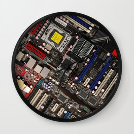Computer boards Wall Clock