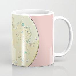 Mapa de sol Coffee Mug