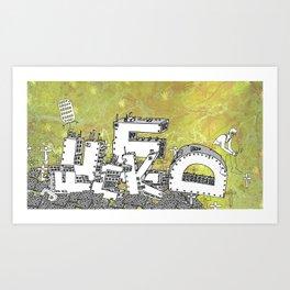 Fade Art Print