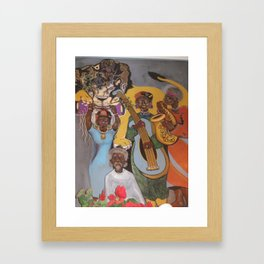 From Africa to America Framed Art Print