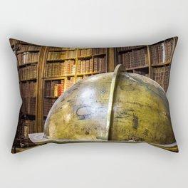 Austrian national library in vienna Rectangular Pillow