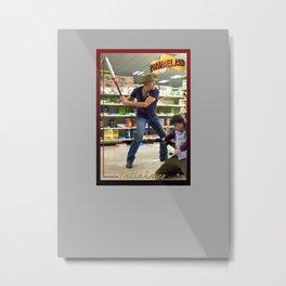Tallahasee Baseball Card Metal Print