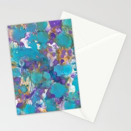 Blue Blossom Stationery Cards