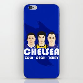 Toon Chelsea Lions iPhone Skin