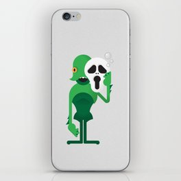 Swamp Thing / Ghostface iPhone Skin