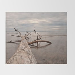 Dead Tree Bay Throw Blanket