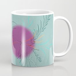 purple sun Coffee Mug