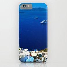 Santorini Caldera iPhone 6s Slim Case