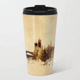 Leeds England Skyline Travel Mug
