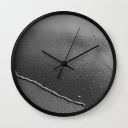 Touch the Shore Wall Clock