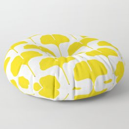 Ginkgo Leaf Floor Pillow