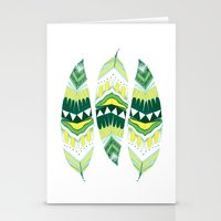 indiana Stationery Cards featuring Eerie Indiana  by Animaux Circus
