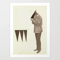 Triangle Addict Art Print