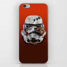 snake and stormtrooper iPhone & iPod Skin