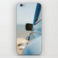 The blue car iPhone & iPod Skin
