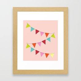 Hooray for girls! Framed Art Print