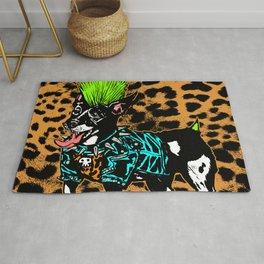 Punk Dog Rug