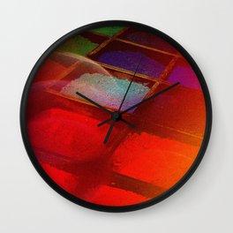 Pigmentation Wall Clock