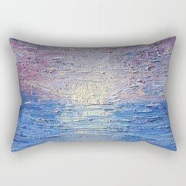 A Broken Ocean Rectangular Pillow