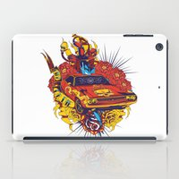 muscle iPad Cases featuring Muscle by Tshirt-Factory