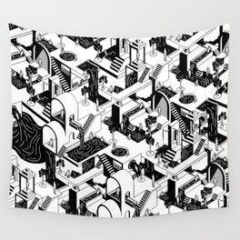 City Repeat Wall Tapestry