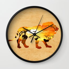 Thy Kingdom Wall Clock