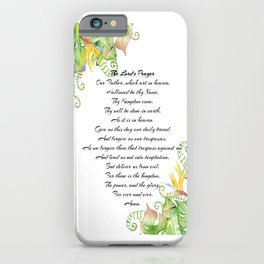 The Lords Prayer iPhone Case