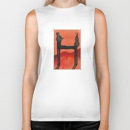 Animal's Alphabet - H for 'Horse' Biker Tank
