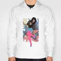 80s Hoodies featuring 80s by Allen Holt