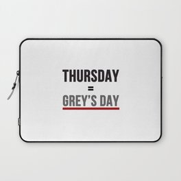 Grey's Day Laptop Sleeve
