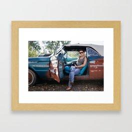 Artists In Jackson: Ashley Smith Framed Art Print