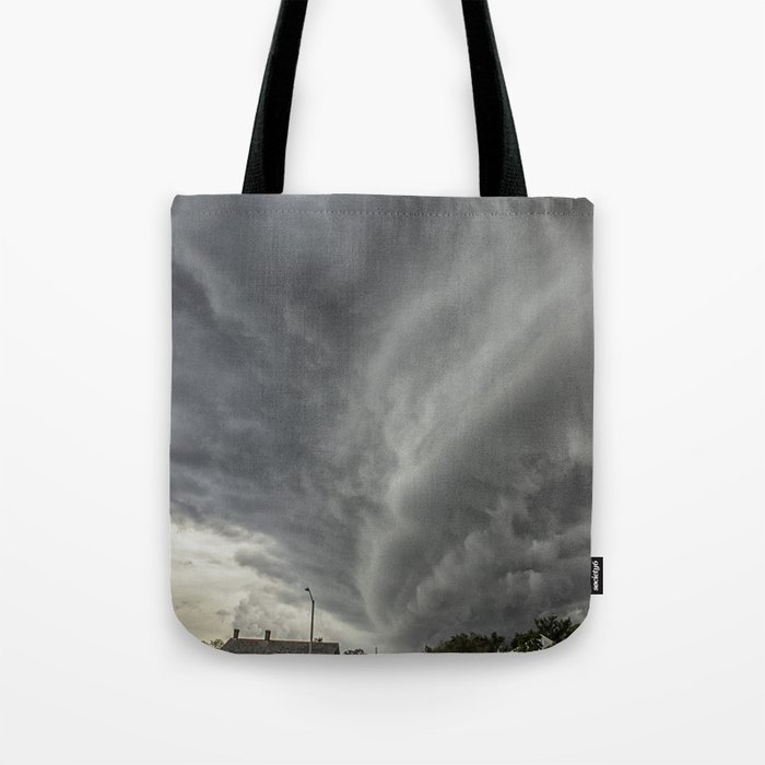 Cloud Wall Turning Tote Bag