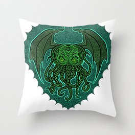 Cthulhu Madness Throw Pillow