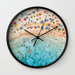 Fairy Bread Beach Wall Clock